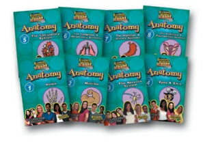 Standard Deviants School Anatomy (9 Pack)