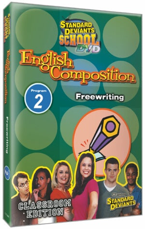 Standard Deviants School English Composition Module 2: Free writing