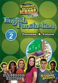 Standard Deviants School English Punctuation Module 2: Commas & Colons