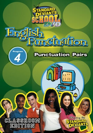 Standard Deviants School English Punctuation Module 4: Punctuation Pairs