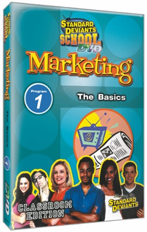 Standard Deviants School Marketing Module 1: The Basics