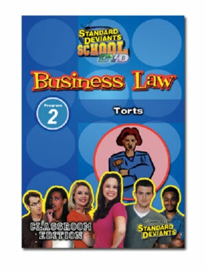 Standard Deviants School Business Law Module 2: Torts