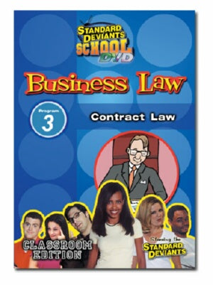 Standard Deviants School Business Law Module 3: Contract Law