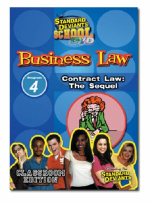 Standard Deviants School Business Law Module 4: Contract Law - The Sequel