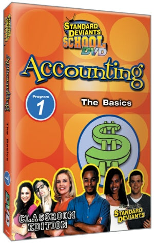 Standard Deviants School Accounting Module 1: The Basics