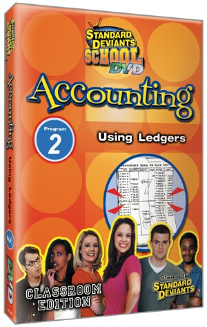 Standard Deviants School Accounting Module 2: Using Ledgers