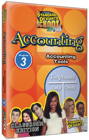 Standard Deviants School Accounting Module 3: Accounting Tools