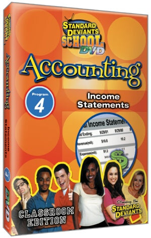 Standard Deviants School Accounting Module 4: Income Statements