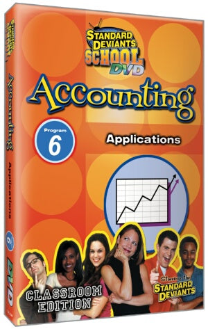 Standard Deviants School Accounting Module 6: Applications