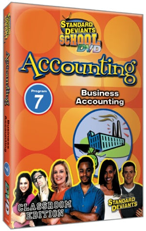 Standard Deviants School Accounting Module 7: Business Accounting