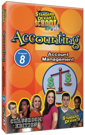 Standard Deviants School Accounting Module 8: Account Management