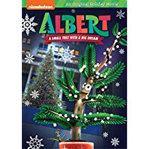 Albert A Small Tree With A Big Dream /Book) Christmas DVD