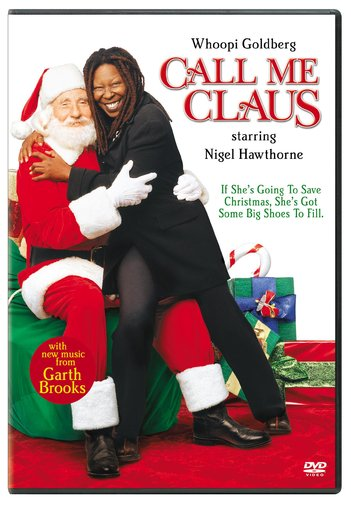 Call Me Claus Christmas DVD