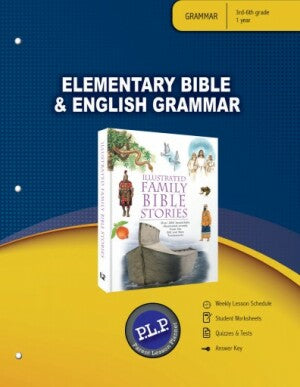 Elementary Bible & English Grammar Package