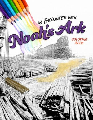 An Encounter with Noah's Ark: Coloring Book
