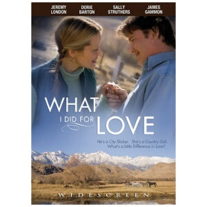 What I Did for Love - Christmas DVD