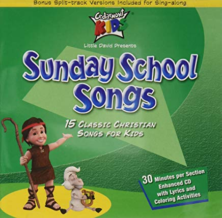 Cedarmont Kids/Sunday School Songs CD