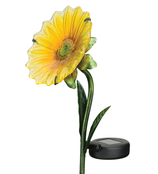 Mini Solar Daisy Stakes - Yellow