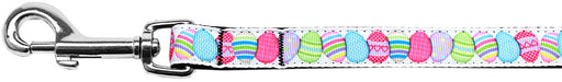 Easter Egg Nylon Ribbon Pet Leash 5/8 inch wide 4Ft Lsh