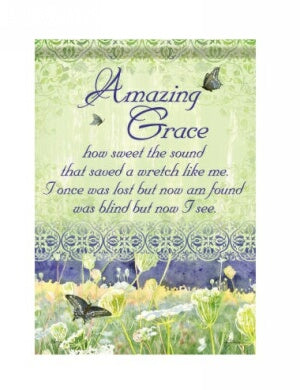 Amazing Grace Garden Flag (13 x 18)