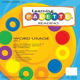 Learning Wrap Ups Palette Word Usage Cards