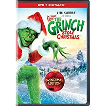 Grinch Christmas DVD