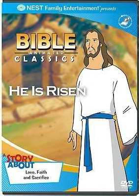 DVD-Bible Animated Classics: He Is Risen