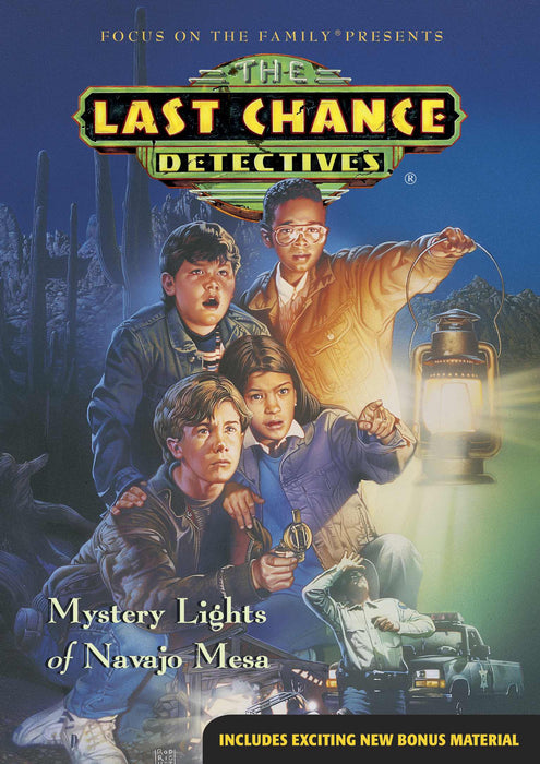 DVD-Mystery Lights Of Navajo Mesa (Last Chance Detectives #1)