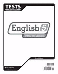 English 5 Tests (2nd Edition)