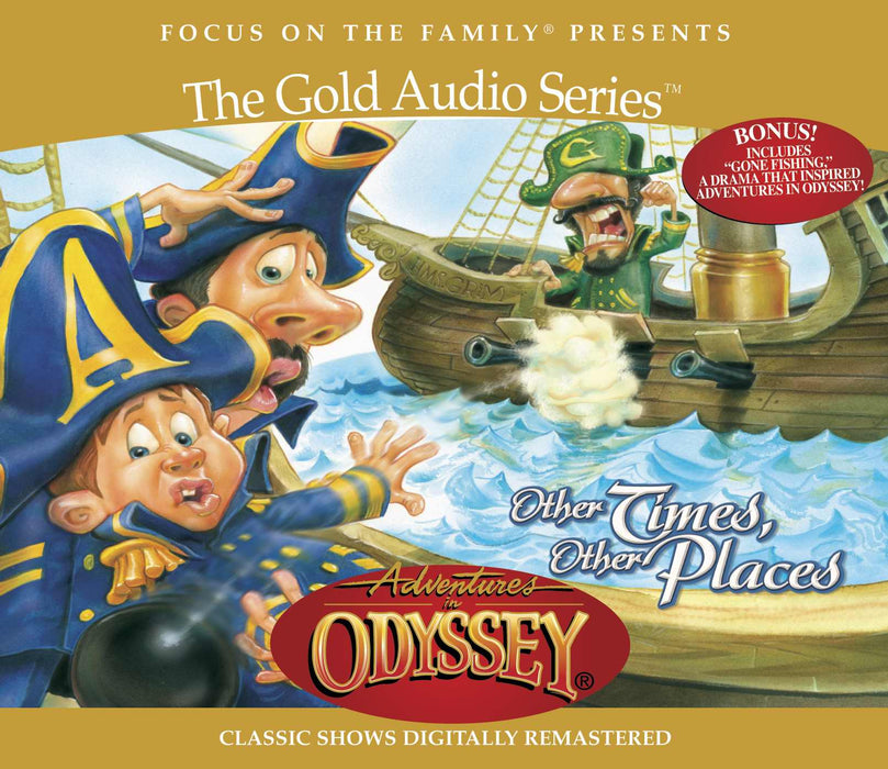 Disc-Adventures In Odyssey Gold #10: Other Times Other (4 CD)