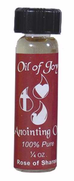 Anointing Oil-Rose Of Sharon-1/4oz (Pack of 6) (Pkg-6)