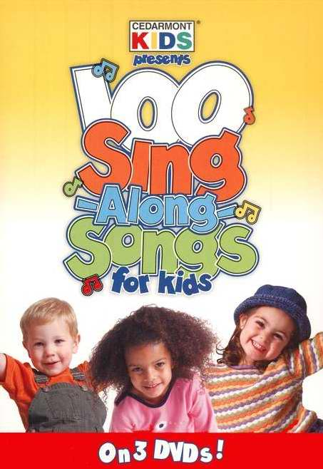 DVD-100 Singalong Songs For Kids (3 DVD)