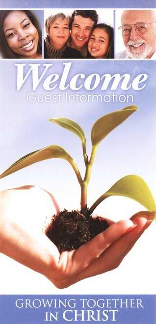 Guest Card-Welcome: Growing Together (Pack of 50) (Pkg-50)