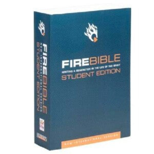 NIV Fire Bible Student Edition-SC
