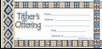 Offering Envelope-My Tithe African American (Pack Of 100) (Pkg-100)