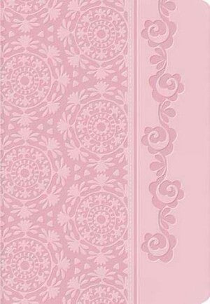 NKJV Devotional Bible For Women-Pnk LeatherSoft