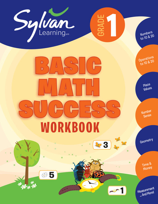 Sylvan Workbook-Basic Math (Grade 1)