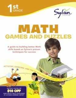 Sylvan Workbook-Math Games (Grade 1)