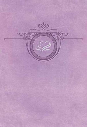 NKJV Women Of Faith Devotional Bible-Lavender Imit DISCONTINUED: 05/22/2013