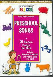 DVD-Cedarmont Kids: Preschool Songs