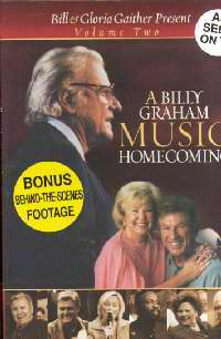 DVD-Homecoming: Billy Graham Music Homecoming V2