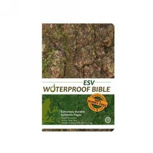 ESV Waterproof Bible New Test w/Ps&Pr-Camouflage
