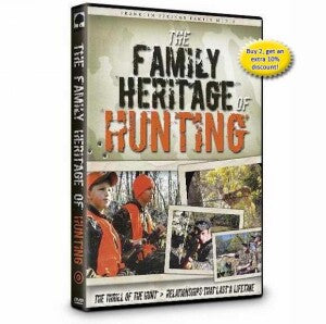 Family Heritage Of Hunting DVD