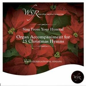 25 Christmas Hymns-Organ Accompaniement