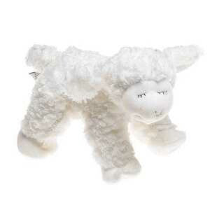 "Plush-Winky Lamb Rattle (4.5"")"