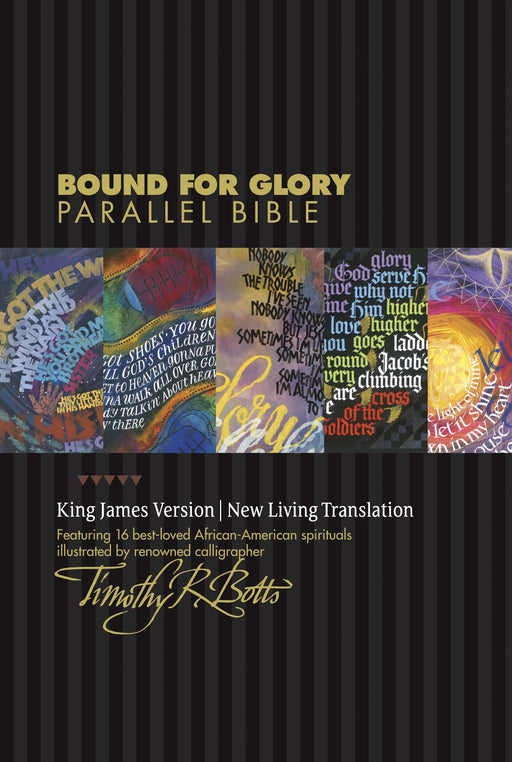 NLT2/KJV Bound For Glory Parallel Bible-Hardcover