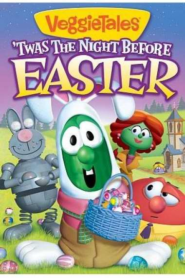 DVD-Veggie Tales: 'Twas The Night Before Easter