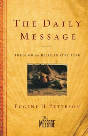 Daily Message: Through The Bible In One Year-SC