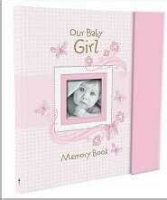 Baby Book-Our Baby Girl Memory Book-Pnk w/Gift Box