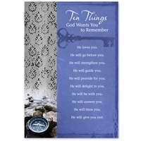 Card-Counter-Any Man-Ten Things (Pack of 3) (Pkg-3)